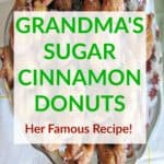 Cinnamon Donuts Perfect For the Holidays