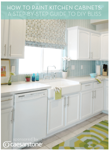 How To Paint Kitchen Cabinets DIY Project Our Home Sweet Home