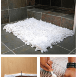 Repurpose Towels Into A Cozy Bath Rug