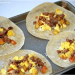How To Make Breakfast Burritos (Freezer Meal Idea)