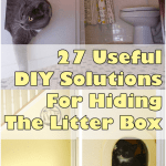 27 Useful Ways To Hide The Litter Box