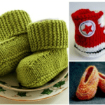 10 Free Knitting Patterns For Baby Shoes