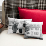 How To Make Vintage Photo Pillows