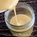 Homemade Sweetened Condensed Milk Recipe