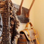 How To Make a Cool Coat Rack From Wooden Hangers