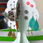 How To Make an Earring Storage Tree