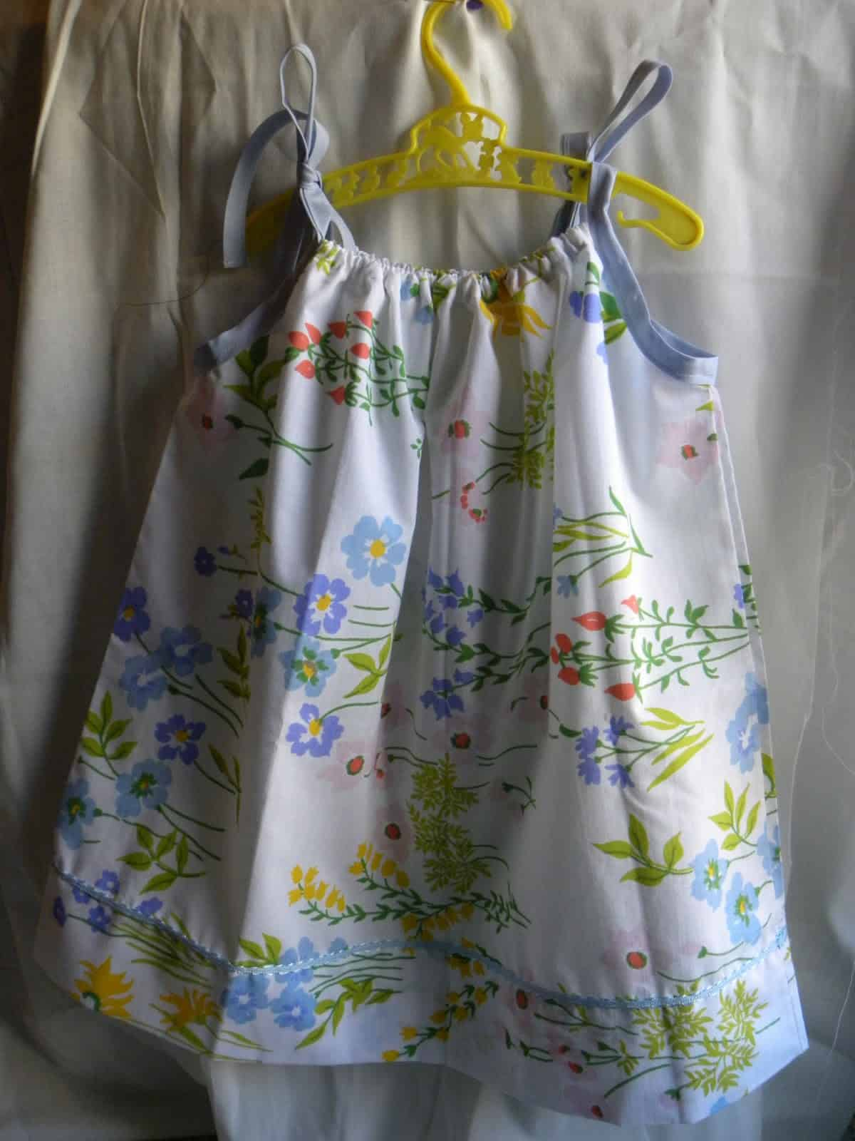 How To Make Easy Pillowcase Dresses Our Home Sweet Home
