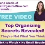 Free Video: Top Organizing Secrets Revealed