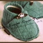 How To Make Sweet Sweater Slippers