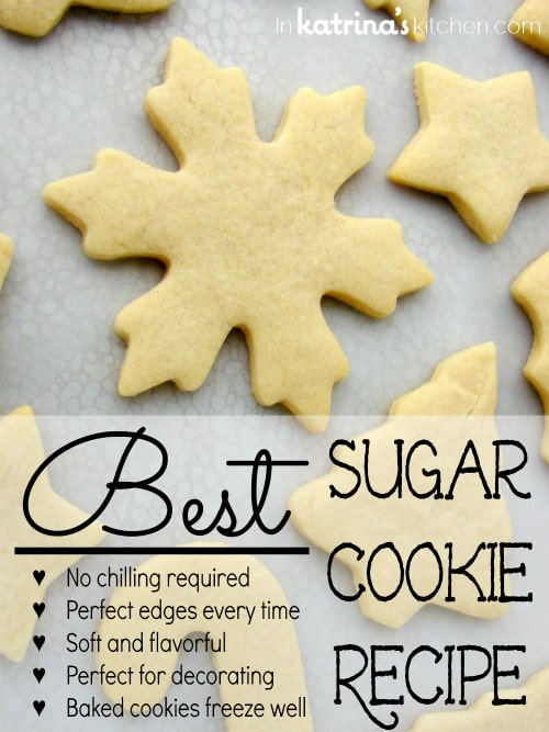 How To Make The Best Sugar Cookies - Recipe - Our Home Sweet Home