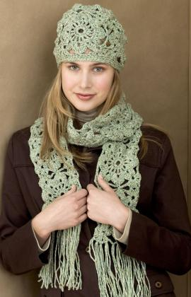 Free Crochet Patterns For Scarf And Hat Set : How to Crochet a Hat and Scarf - Free Pattern - Our Home ...