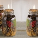How to Make Beautiful Mason Jar Oil Candles