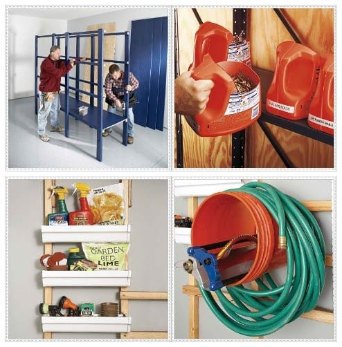 Clever Storage Ideas For Organizing Your Garage