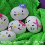 "How to Make ""Hello Kitty"" Easter Eggs"
