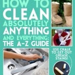 The A-Z Guide To Cleaning Almost Anything