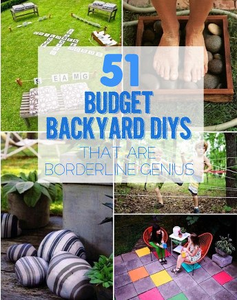 51 budget friendly diy backyard ideas our home sweet home