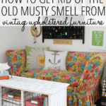 How to Remove the Musty Smell from your Upholstered Furniture