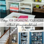 7 Steps to Start Organizing Your Home