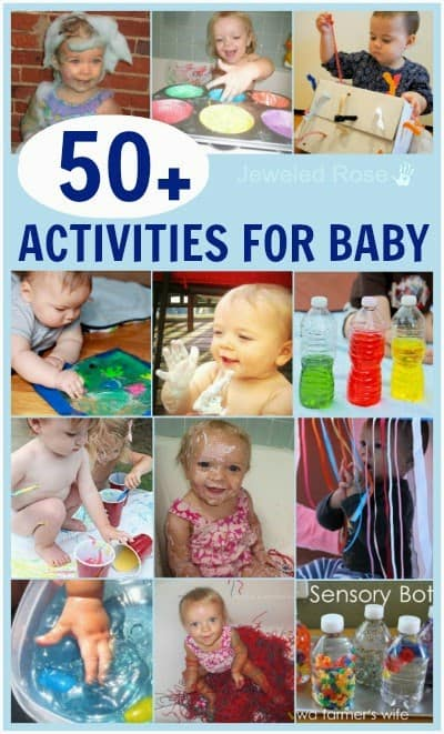 50 sensory activities for baby