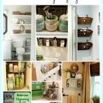 11 Awesome Small Bathroom Organizing Ideas