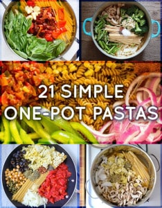 21 simple one pot pastas