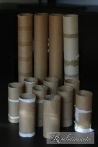 paper roll crafts for fall