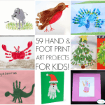 59 Hand and Foot Print Art Ideas For Kids