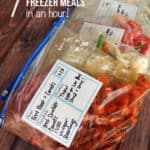 7 Slow Cooker Freezer Meals In One Hour
