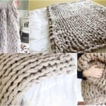 How To Arm Knit a Blanket – Tutorial