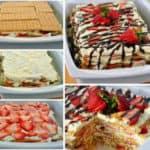 No-Bake Strawberry Icebox Cake Recipe