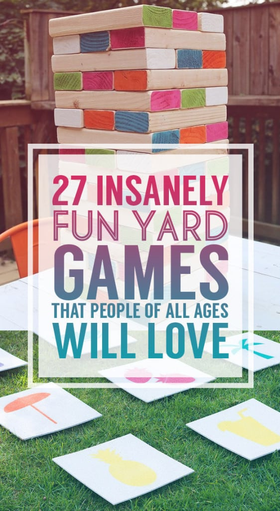 27 Insanely Fun Outdoor Games