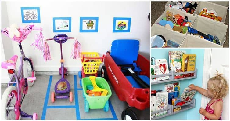 19 Organizing Tips To Deal With Kid Clutter