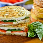 How To Make Italian Grilled Margherita Sandwiches