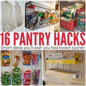 16 Pantry Organization Ideas