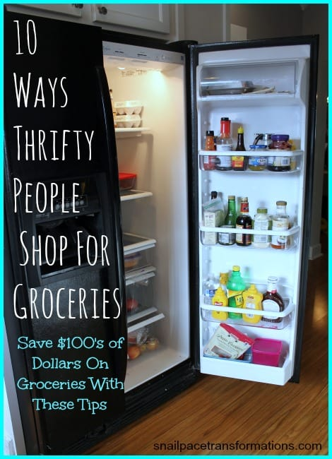 10 Tips For Saving Money on Grocery Shopping