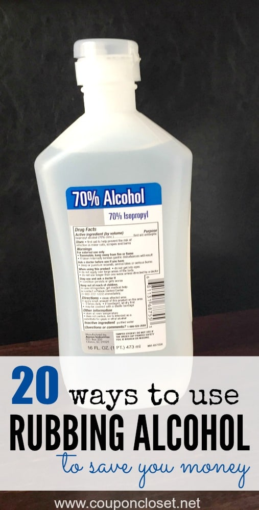 20 Ways To Use Rubbing Alcohol That Will Save You Money