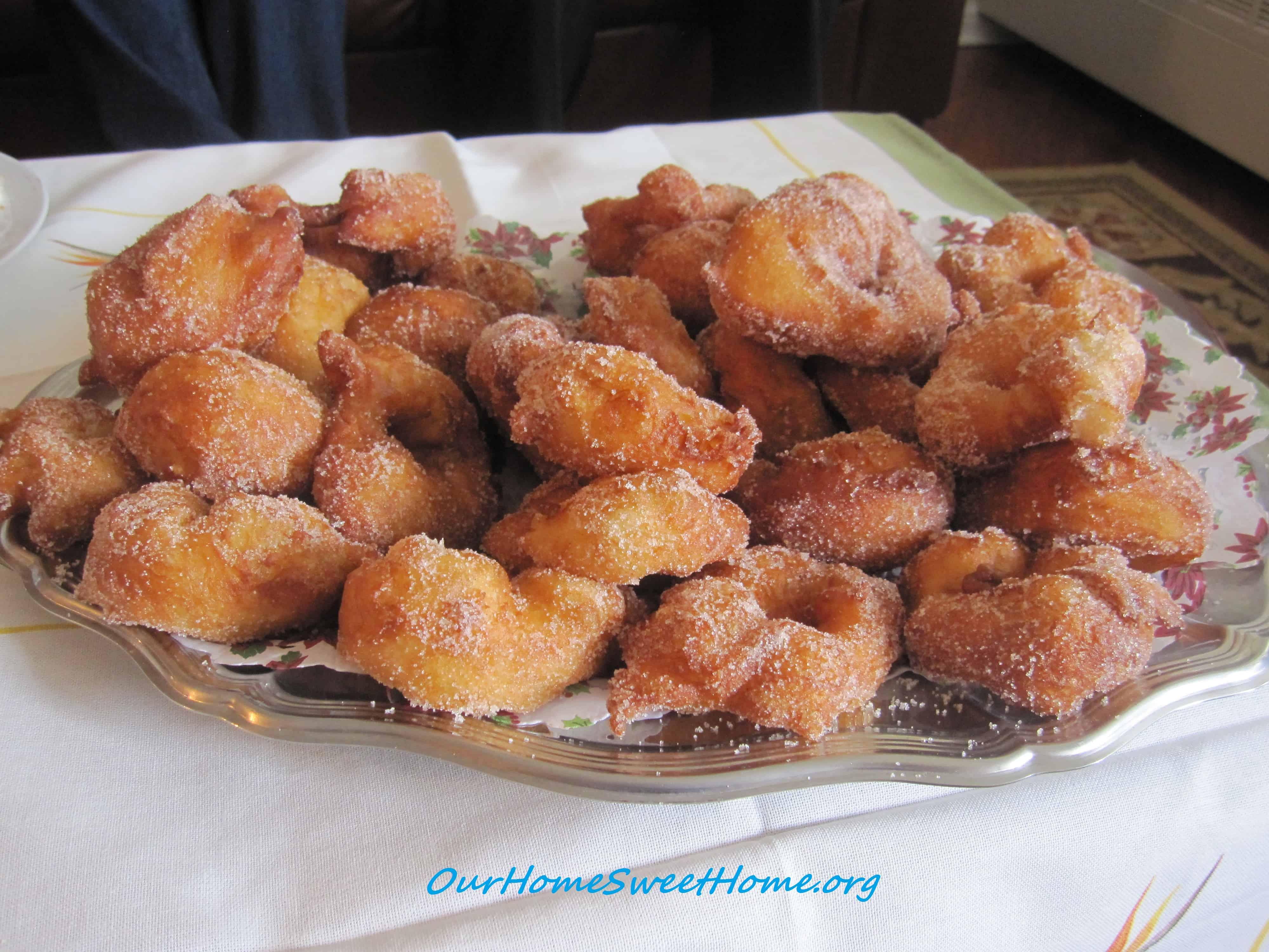 Sugar Cinnamon Donuts Recipe