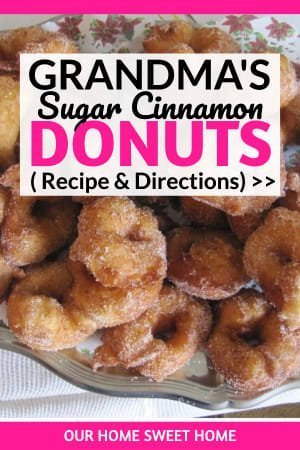 Sugar Cinnamon Donuts