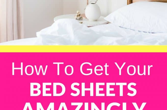How to Get Your Bed Sheets Amazingly White