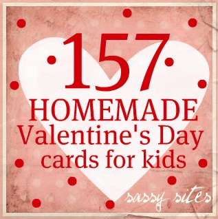 157 Homemade Valentine's Day Cards For Kids - Our Home ...