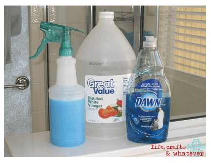 Amazing Homemade Cleaner For Soap Scum More Our Home