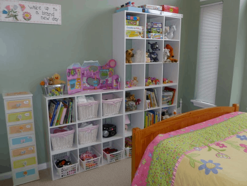 Daughter's Bedroom Organizating Project