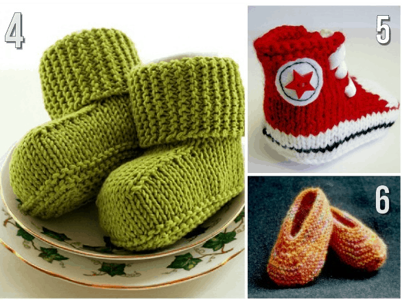 10 Free Knitting Patterns For Baby Shoes Our Home Sweet Home