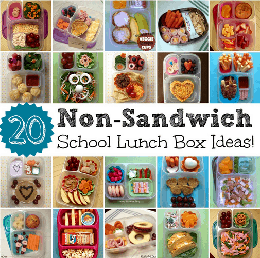 20 non sandwich lunch box ideas