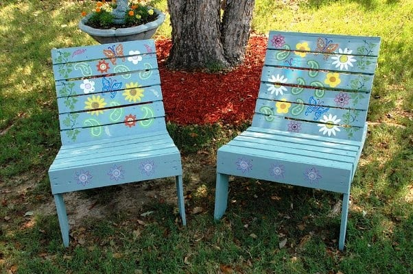How To Make Unique Pallet Chairs project