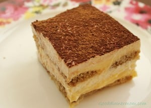 homemade tiramisu with homemade ladyfingers 1