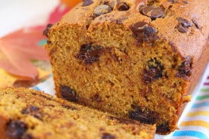 Chocolate Chip Pumpkin-Bread Recipe