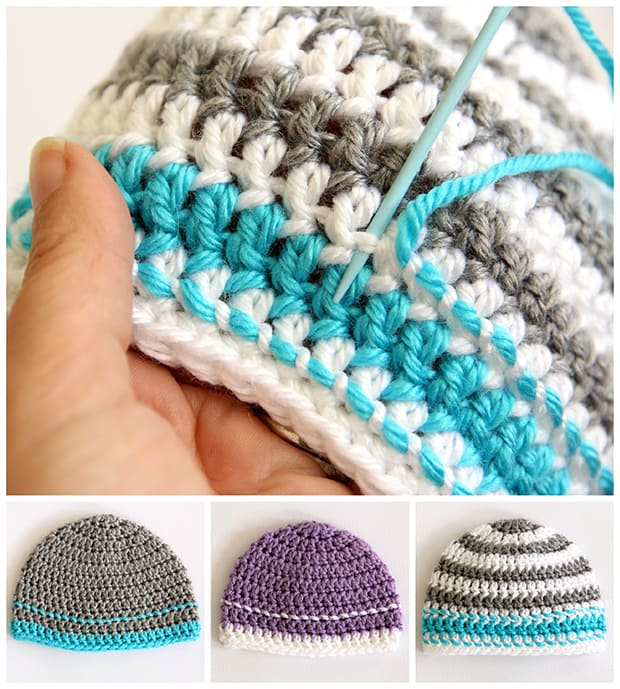 Crochet Caps For A Cause Free Pattern Our Home Sweet Home