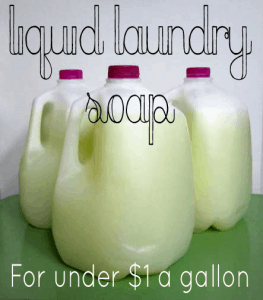 liquid laundry soap recipe