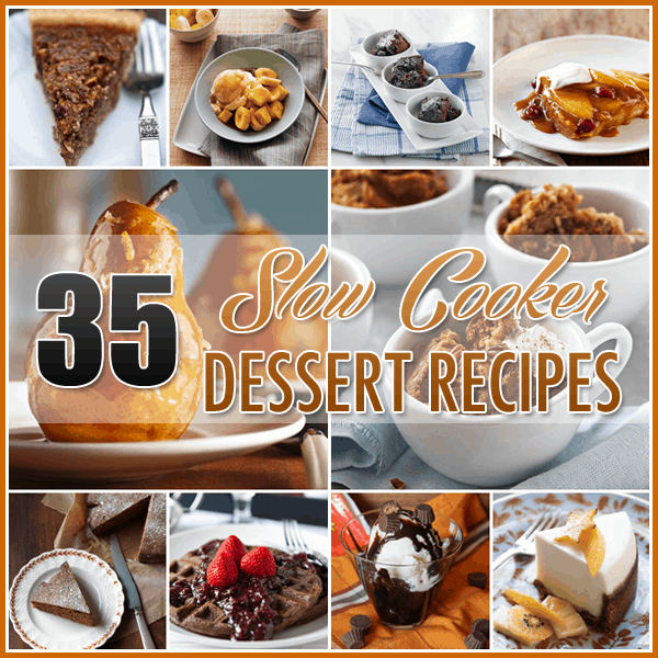 SlowCooker dessert recipes